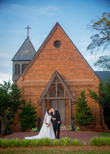 Weddings at St. Mary's Chapel - Charlotte NC