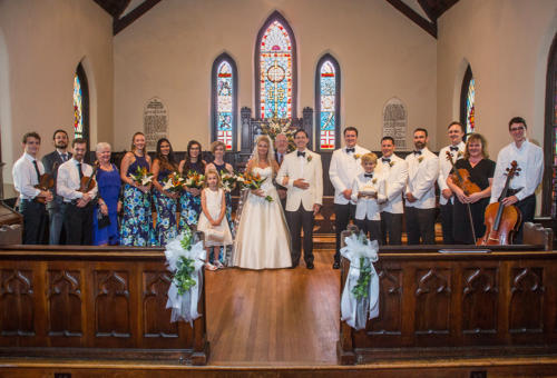 Wedding Party - St. Mary's Chapel