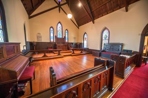 ST. Mary's Chapel Interior