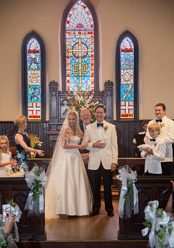 Wedding Ceremony - Weddings at St. Mary's Chapel - Charlotte NC
