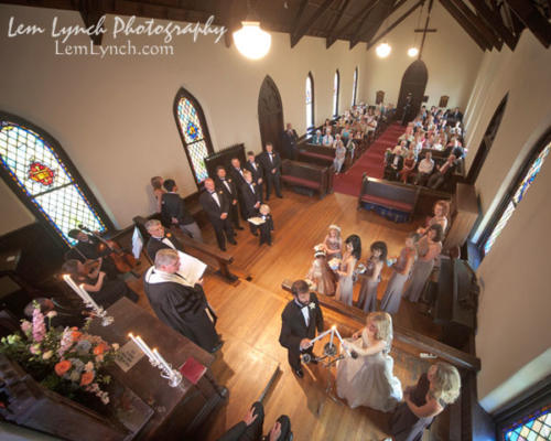 Wedding Ceremony at St. Mary's