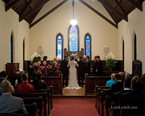 Wedding at St. Mary's - Ceremony
